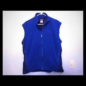 Blue Fleece Patagonia Vest